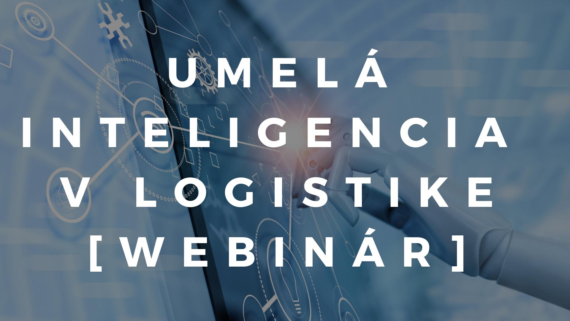 Umelá inteligencia AI v logistike webinár